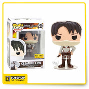 Attack on Titan Cleaning Levi Hot Topic Exclusive Pop
