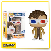Doctor Who Tenth Doctor 233 Hot Topic Exclusive Pop