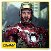 The Avengers Iron Man Mark VII Battle Damaged 1/6 Scale Figure