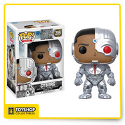 DC Justice League Cyborg 209 Pop