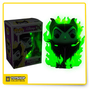 Disney Maleficent Pop Vinyl Hot Topic Exclusive  Chase