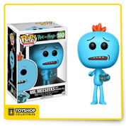 Rick and Morty Mr Meeseeks 180 With Meeseeks Box Barnes and Noble Exclusive Pop