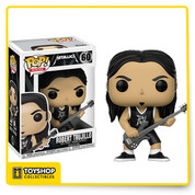 One of the most influential rock bands of all time is now joining the Funko family! This series of Pop! music includes all four members of the legendary band Metallica! (Each figure sold separately)