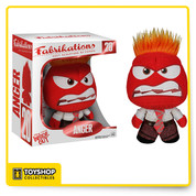 It might be soft to touch by this Fabrikations Inside Out Anger plush by Funko is packed with attitude! Measuring approximately 6 inches in height this officially licensed plush showcases the emotion of Anger as seen in the 2015 movie Inside Out. This soft sculpture isn't like your average plush toy, it's been quality crafted with collector's in mind and offers fantastic attention to detail. Filled with dense foam to give it a high end and luxury feel; this Anger fabric creation has free standing feet and a rotating head making it perfect for display.