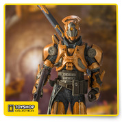 Titans are warriors - heroic defenders of the Light, channeling the gifts of the Traveler to wage war on the Darkness. Steadfast and sure, Titans face any challenge head-on, blunt force instruments of the Traveler's will. Highly detailed sculpt of the Titan modeled from in-game assets Figure comes with iconic the Gjallarhorn rocket launcher and Invective shotgun Fully customizable figure with 14+ points of articulation for dynamic posing Figure comes in window boxed collector packaging and featured on a stylized Destiny branded display base