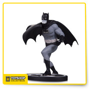 "Carmine Infantino - Will Eisner Award Hall of Hamer and legendary Silver Age artist, joins the Black and White line with his iconic takes on The Dynamic Duo. This statue features Infantino's artwork created for Batman. Measures approximately 6.25"" tall."