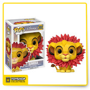 Disney The Lion King Simba with Leaf Mane Pop