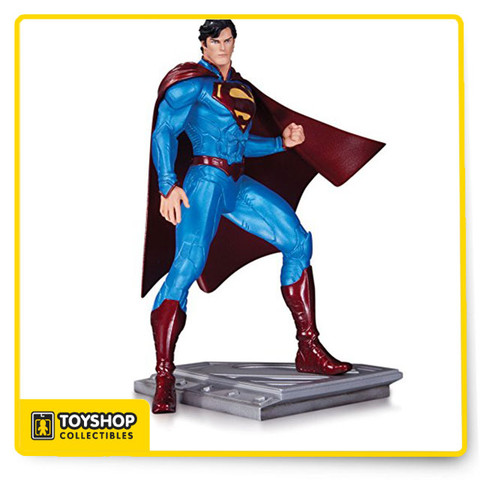 Acclaimed artist Cully Hamner brings his inimitable style to the Man of Steel with this newest entry in the line of statues featuring unique designs for Superman from all eras. Limited Edition of 5,200