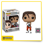 Portal 2 Chell with Gun Pop Figure