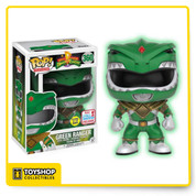 POP! Television Power Rangers Green Ranger Glow in the Dark