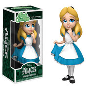 Some characters from the wonderful world of Disney are now joining the Funko Rock Candy line! This series features the curious Alice from Alice in Wonderland.  Funko's Rock Candy line features 5-inch stylized vinyl figures of the most powerful women around! Each Rock Candy figure comes on its own removable base!