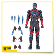 DC's own Legends of Tomorrow are here in a new DCTV action figure series! The Atom includes alternate hands and energy blasts.