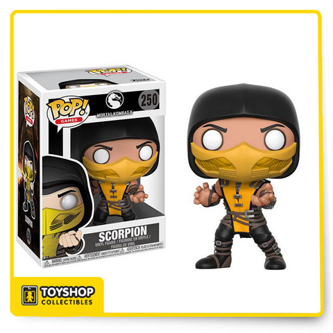 One of the original seven playable characters in the very first Mortal Kombat game, Scorpion is a firm fan favourite with a cult following. Now you can have one of the deadliest ninjas in video game history in your Pop! Vinyl collection! Just make sure he doesn't get into any brawls with Subzero!