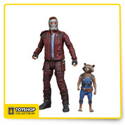 Marvel Select Guardians of the Galaxy 2 Star-Lord with Rocket