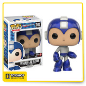 Mega Man - Ice Slasher Mega Man Pop! Vinyl Figure  Mega Man is a video game series staring a robot character of the same name and his many counter parts. The series began in 1987 on the NES began a series of over 50 games on multiple systems.  Be sure to grab Mega Man in his Ice Slasher colour scheme for your Pop! Vinyl collection!