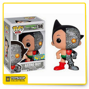 Funko Pop! Asia # Astro Boy (Asia Exclusive Dissected) as a stylized POP vinyl from Funko! Figure stands 3 3/4 inches and comes in a window display box. Collect them all.