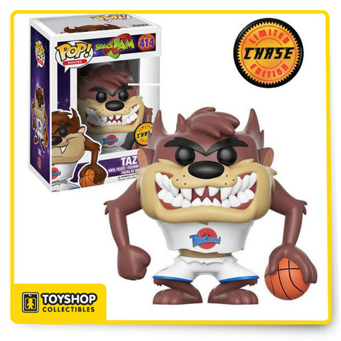 Help Bugs take on Swackhammer and his team of Monstars with Funko's stylized Pop! figures of Space Jam. Each figure stands 3.75 inches tall and is made of vinyl. Pop! figures are packed in a window box that makes them great for display.