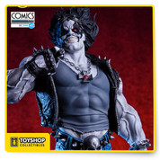 Limited Edition. Based on the amazing concept painted by Ivan Reis from Chiaroscuro Studios. Manually painted. Comes with a base to display the character.