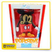 Find the hot, fresh look of our Vinylmation Popcorns Series Figures as Classic Mickey Mouse is colorfully reimagined as part of a new figurine set.  Features Series created by artists Thomas Scott and Billy Davis Comes in popcorn box shaped packaging for added collector's fun. Vinyl 4 3/4'' x 3 3/4'' x 1 3/4'' Details Package Dimensions: 6.8 x 5.5 x 4.7 inches Item Weight: 2.88 ounces Shipping Weight: 2.88 ounces Department: Unisex Children Manufacturer: Disney