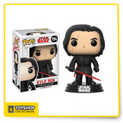 Funko is excited to reveal your favorite characters from Star Wars: The Last Jedi Rey, Finn, Poe, Kylo and BB-8 are back for more adventures and are joined by new characters you're sure to love. *Box is not Mint*