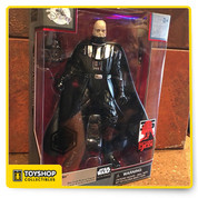 From Disney:    Part of the Star Wars Elite Series, this Darth Vader action figure features a removable helmet, showing Anakin Skywalker as he appears at the end of Return of the Jedi. This figure celebrates the 35th anniversary of the iconic film. Safety  WARNING: CHOKING HAZARD - Small Parts. Not for children under 3 years.  Magic in the details  Includes lightsaber and removable helmet Fully poseable Meticulously crafted die cast action figure Collect all the Star Wars Elite Series Die Cast Action Figures, each sold separately Celebrating the 35th Anniversary of Star Wars: Return of the Jedi