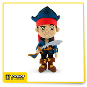 "NWT 12"" CAPTAIN JAKE & NEVERLAND PIRATES Disney Stuffed Plush Doll  Brand New with Tags from the Disney Store Authentic, Original, Genuine  12"" Captain Jake the Pirate Stuffed Plush - from Jake and the Neverland Pirates TV Show High Quality Soft plush with embroidered features"