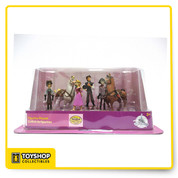 "Product Description  - 6 piece Tangled figurine set - Excellent for display and play - Figures vary in size - largest is 4"" in height - Package Dimensions: 11""L x 6""H x 5""D"