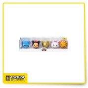 Some of your favorite Disney Tsum Tsum characters from Monogram's hit blind bag key chain series are here in a special 5-pack! This Disney Tsum Tsum 3D Figural Key Chain 5-Pack Set - San Diego Comic-Con 2016 Exclusive was only available for folks who were able to attend SDCC 2016, but you can get it here! Comes with Stitch, Minnie Mouse, golden Mickey Mouse, Marie from The AristoCats, and Winnie the Pooh. Ages 4 and up