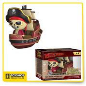 Pirates of the Caribbean fans get excited! The latest Disney Theme Parks Funko exclusive is Jolly Roger with pirate ship featured as a Dorbz Ridez!