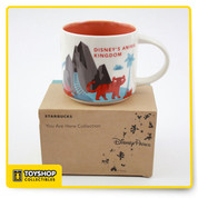Animal Kingdom Ceramic Holds 14 oz. Liquid Microwave & Dishwasher Safe Exclusive Disney Starbucks Animal Kingdom Merchandise
