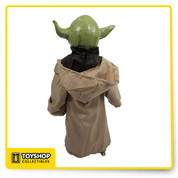 """STAR WARS STAR TOURS YODA 17"""" LATEX FIGURE DISNEY PARKS EXCLUSIVE BRAND NEW Semi-poseable latex figure.  It has fully sculpted face, hands and feet.  It measures 17"""" x 8"""" x 5""""."""