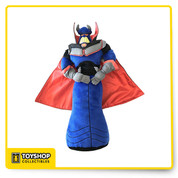 Exclusive Disney Theme Parks item Shanghai Disneyland Pixar Toy Story Zurg Plush figure toy Measures approx.18 long Soft polyester fabric with embroidered details. Shiny satin cape. Soft cuddly Emperor Zurg is ready to take over your heart. Package Dimensions: 17.1 x 9.6 x 4.5 inches