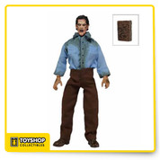 Get your  Deadite Ash from the cult classic flick Evil Dead 2! The poseable 8″ figure is dressed in tailored fabric clothing similar to the retro toy lines that helped define the licensed action figure market in the 1970s. Deadite Ash comes with movie-accurate accessories, including a Necronomicon.