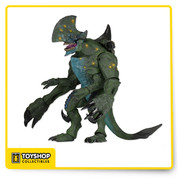 From the epic Pacific Rim movie. HUGE Kaiju – Axehead! Axehead was originally a concept model for Trespasser, the first Kaiju to emerge from the breach. This massive, fully articulated figure has a newly sculpted head and all new deco and detail.