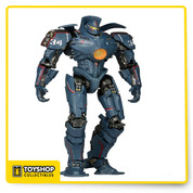 """Gipsy Danger 2.0 figure is 7"""" scale, features over 20 points of articulation and incredible detail. This Gipsy Danger Action figure was created from the actual digital files utilized by ILM in the creation of the film."""