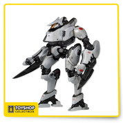 """Tacit Ronin created from the actual digital files utilized by ILM in the creation of the film Pacific Rim . Each 7"""" scale figure features over 20 points of articulation and incredible detail."""
