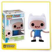 Your favorite backpack-wearing rock-biter from Adventure Time with Finn and Jake has been given the Pop. Vinyl treatment with the Adventure Time Finn Pop. Vinyl Figure. Standing 3 3/4-Inch tall, the righteous hero Finn looks true to form with his gnarly teef situation and backpack.