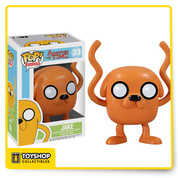 Your favorite magical dog from Adventure Time with Finn and Jake has been given the Pop! Vinyl treatment with the Adventure Time Jake Pop! Vinyl Figure! Standing 3 3/4-inches tall, Jake the Dog looks true to form with his noodly limbs and strangely large white eyes.
