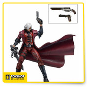 Dante is one of the most popular video game characters ever, and this rendering of him is perfect for any Devil May Cry fan! The well-detailed, 7-inch plastic action figure is nicely articulated, comes with accessories, and is designed based on the 1st Devil May Cry video game. One thing is for sure: You certainly won't be crying with this in your possession!