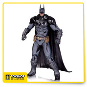 Based on the designs of the 4th installment of the Batman Arkham video game series, the Batman Arkham Knight Batman Action Figure features an entirely new look for the Dark Knight. More armored than ever with a substantially redesigned utility belt, the Caped Crusader is ready to take on whatever Gotham's underworld is dishing out! Measures 6 3/4-inches tall, Ages 14 and up.