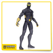 "The Dark Knight must not only battle the Boy Wonder in the DC Universe Animated Original Movie, Batman Vs. Robin, but also an army of undead assassins called the Talons! This detailed action figure captures their stylized design From the film. Ninja Talon stands 6.75"" tall."