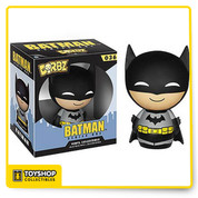 These pint-sized rascals will weasel their way into your heart as surely as they'll find their way onto your shelf! The Batman Black Suit Dorbz Vinyl Figure measures approximately 3-inches tall. This loveable little hero comes in a double window-box package to fully display the the character from both front and back! Ages 3 and up.