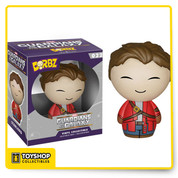 There's one other name you might know me by... Star-Lord Dorbz! Peter Quill is unmasked and looking pretty adorbz-able in Funko's Dorbz format. The Guardians of the Galaxy Star-Lord Unmasked Dorbz Vinyl Figure measures approximately 3-inches tall and comes packaged in a double-sided window display box! Ages 3 and up.