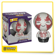 Drax, a.k.a. the Destroyer is on a rampage across the galaxy in a search of vengeance. Drax is pretty adorbz-able in Funko's Dorbz format. The Guardians of the Galaxy Drax Dorbz Vinyl Figure measures approximately 3-inches tall and comes packaged in a double-sided window display box! Ages 4 and up.