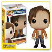 You'll want to collect all the Pop! figures from Doctor Who. Time's a wastin', so start with this cool 3 3/4-inch tall Doctor Who 12th Doctor Pop! Vinyl Figure based on actor Peter Capaldi! Other figures sold separately. Ages 14 and up.