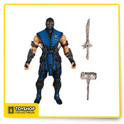 This icy assassin is one of the most cold-blooded of all Mortal Kombat characters and just like each of the three figures in Mezco's initial wave, is one of the few to be a playable character in every version of the game. To ensure a game accurate likeness, correct to the finest detail, Mezco's award-winning design team has digitally sculpted the figures using the digital files from the game developers themselves.
