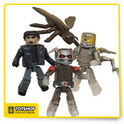 The smallest hero of the Marvel Universe is now Comic-Con's coolest exclusive - and he's almost actual size! This Marvel Ant-Man Minimates Box Set - San Diego Comic-Con 2015 Exclusive features 4 figures based on Marvel's Ant-Man, including Shrinking Ant-Man, Shrinking Yellowjacket, civilian Scott Lang and Ant-Thony the Ant! Each 2-inch tall Minimates mini-figure features 14 points of articulation as well as interchangeable parts and accessories! Limited edition !!