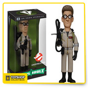 Egon Spengler, PhD, is the resident science geek for the. Featuring a stylized likeness of Harold Ramis, fans will enjoy this delightful Ghostbusters Dr. Egon Spengler Vinyl Idolz Figure. Standing approximately 8-inches tall, Egon comes packaged in a window display box. AGes 14 and up.