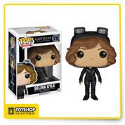 Before Bruce Wayne became the Batman, cleaning up the crime-ridden streets of Gotham was left to Detectives James Gordon and his partner, Harvey Bullock. Find justice amid Gotham's corruption with Pop! Vinyl Figures based on Fox's hit show. The Gotham Selina Kyle Pop! Vinyl Figure measures approximately 3 3/4-inches tall and captures the young Catwoman complete with her goggles.