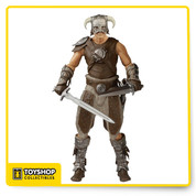 Funko expands their Legacy collection with figures based on the hit RPG, Elder Scrolls V: Skyrim! This Elder Scrolls V: Skyrim Dovahkiin Legacy Collection Action Figure features the Last Dragonborn wearing his iconic armor and includes two swords. Action figure stands about 6-inches tall and comes in a blister card packaging. Ages 17 and up.